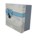 Geometric Pattern Gift Box Set with Ribbon and Bow