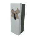 Rectangular Rigid Gift Box with Ribbon and Bow