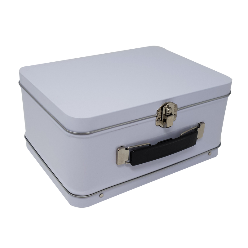 Large Suitcase Gift Tin Box/ L205 x W150 x H100(mm)