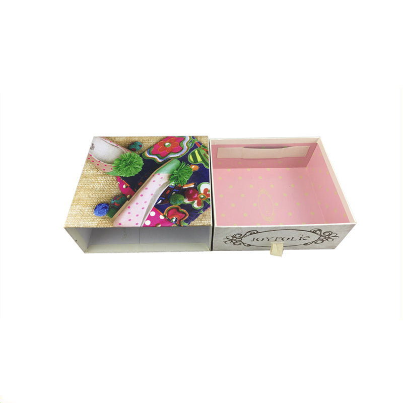 Matchbox Style Gift Box with Ribbon Tab