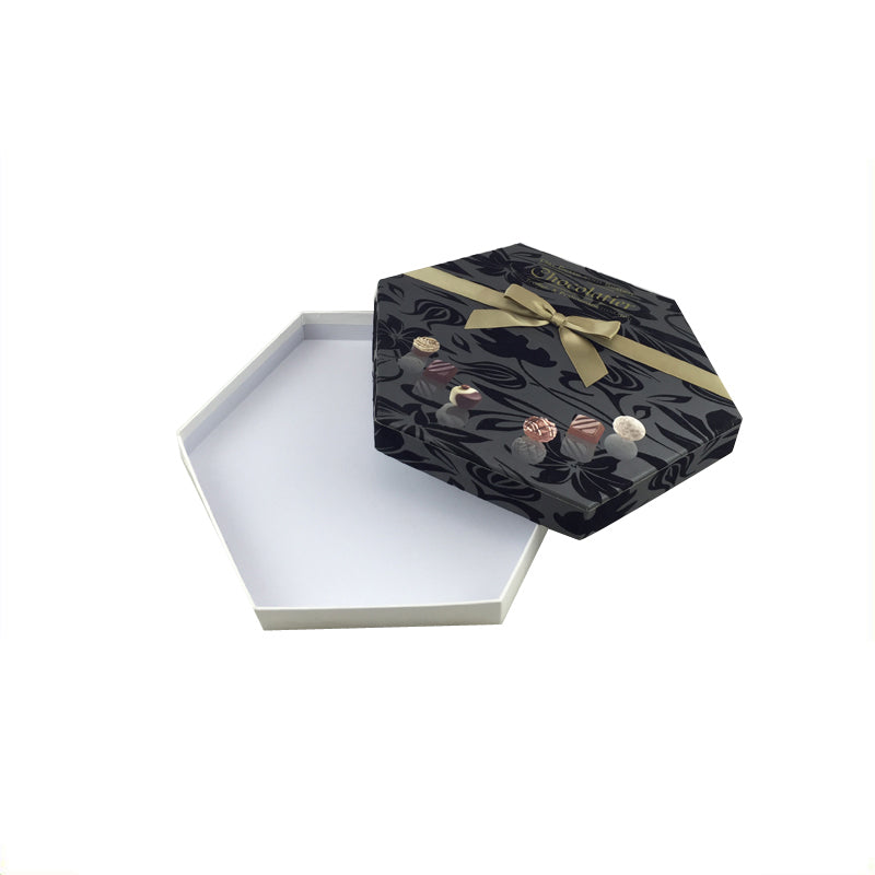 Hexagonal Gift Box with Bow - Ld Packagingmall