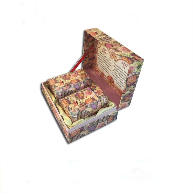 Cardboard Tea Gift Box with Tea Storage Box and Insert - Ld Packagingmall