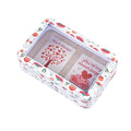 Rectangular Solid Lid With Window Christmas Gifts Storage Tin - Ld Packagingmall
