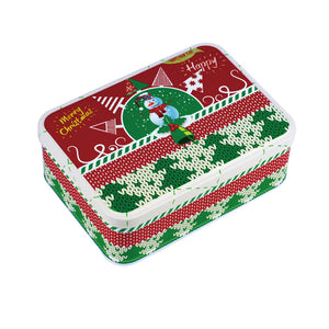Rectangular Step Lid Christmas Gifts Storage Tin - Ld Packagingmall