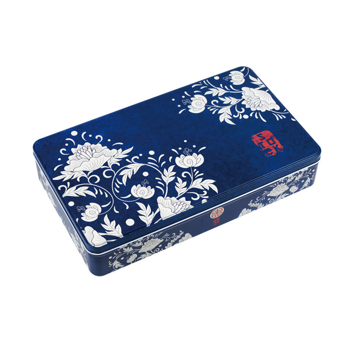 Deep Rectangular Step Lid Storage Tin