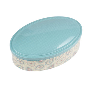 Oval Step Lid Storage Tin - Ld Packagingmall