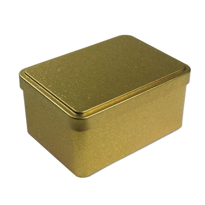 Rectangular Step Lid Tin