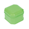 Square Step Lid Storage Tin with Inside Print