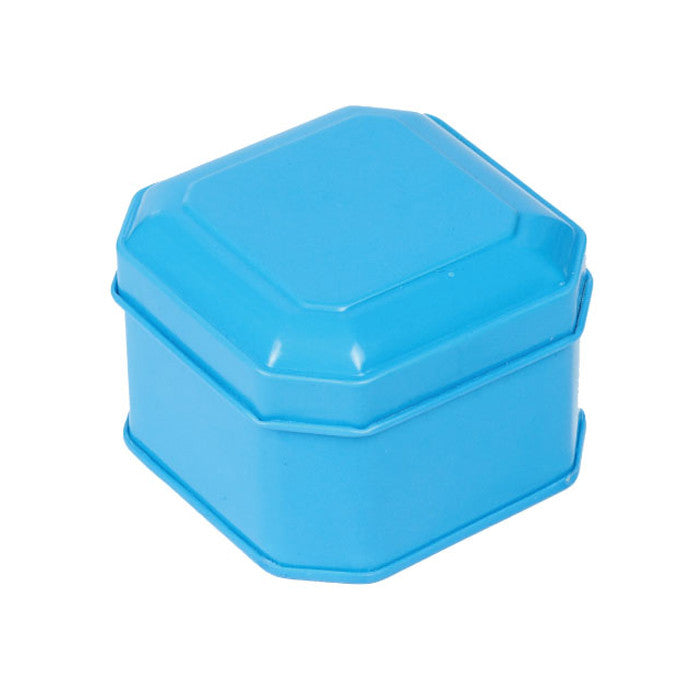 Square Step Lid Storage Tin with Inside Print - Ld Packagingmall