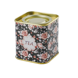 Square Lever Lid Tea Tin - Ld Packagingmall