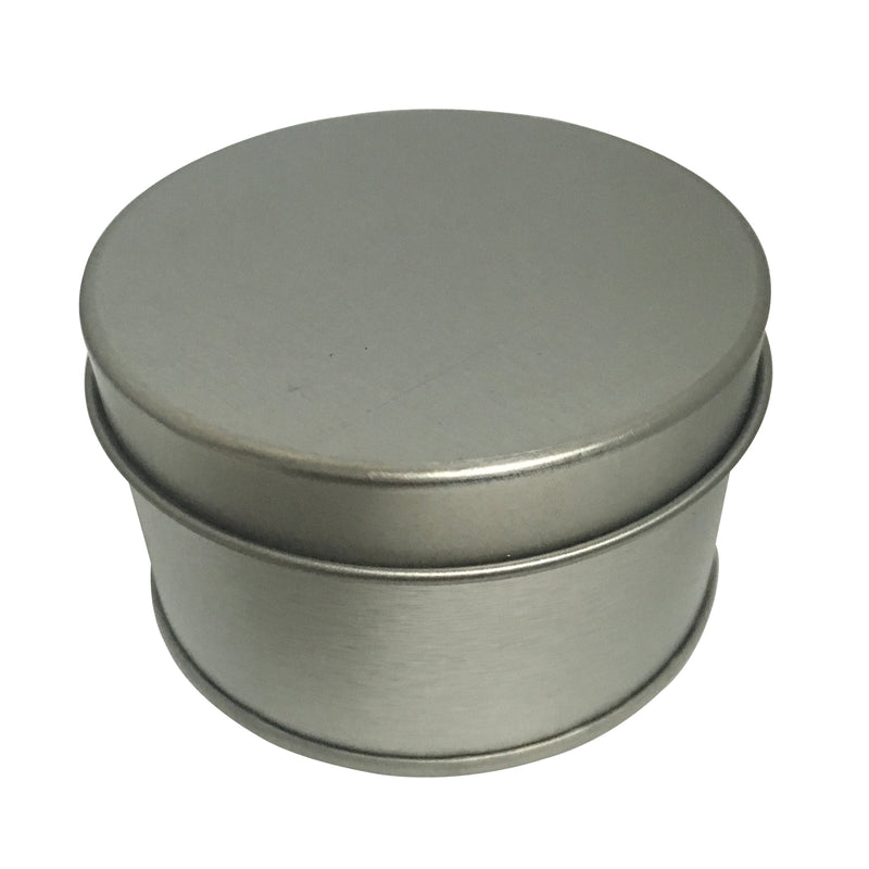 100pcs Round Tin Box With Solid/Window Lid/ Dia65mm x H40mm