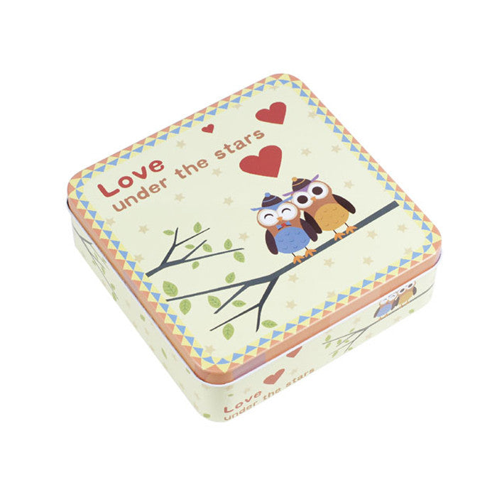 Square Slip Lid Storage Tin - Ld Packagingmall