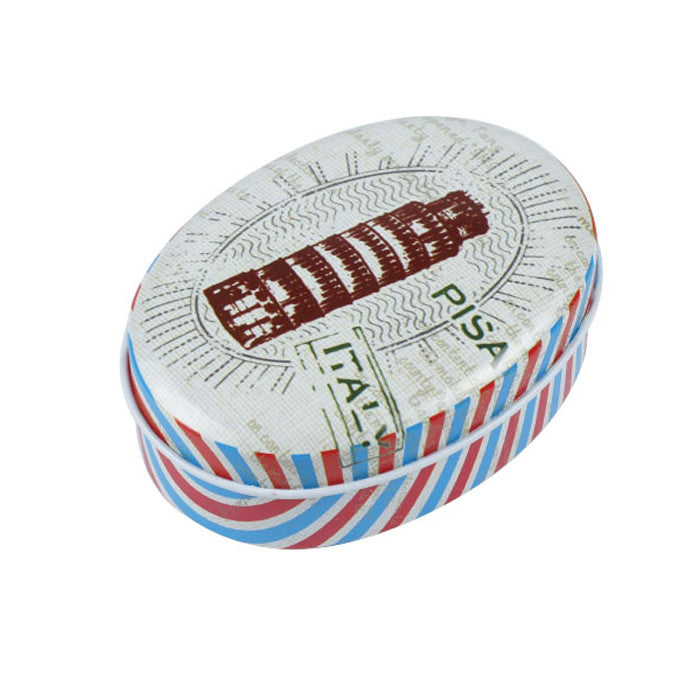 Oval Slip Lid Storage Tin - Ld Packagingmall
