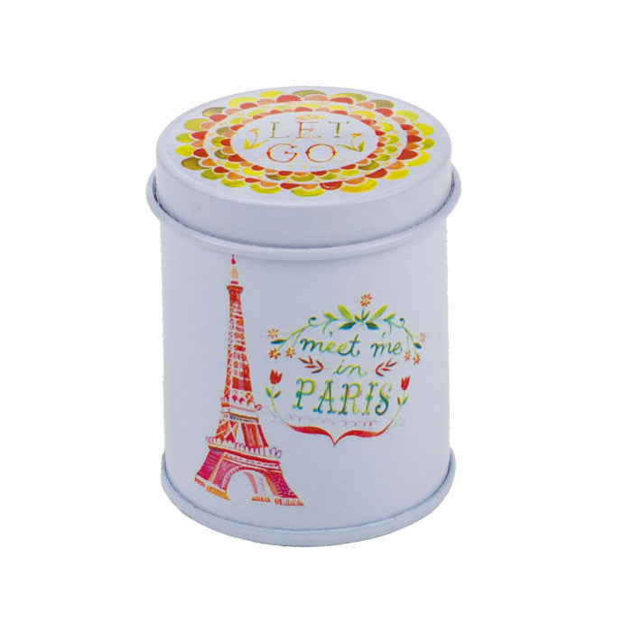 Round Slip Lid Storage Tin - Ld Packagingmall