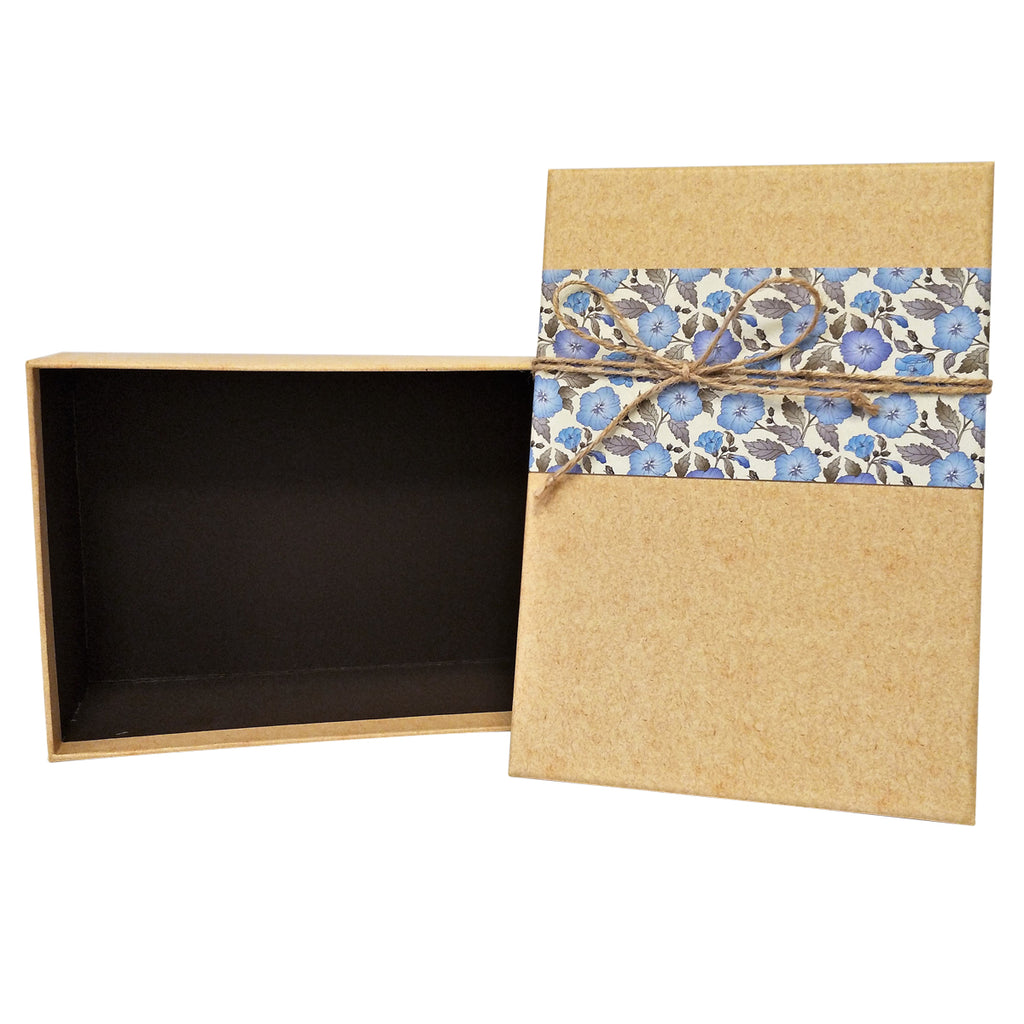Luxury Rigid Rectangular Gift Box with Bow - Ld Packagingmall