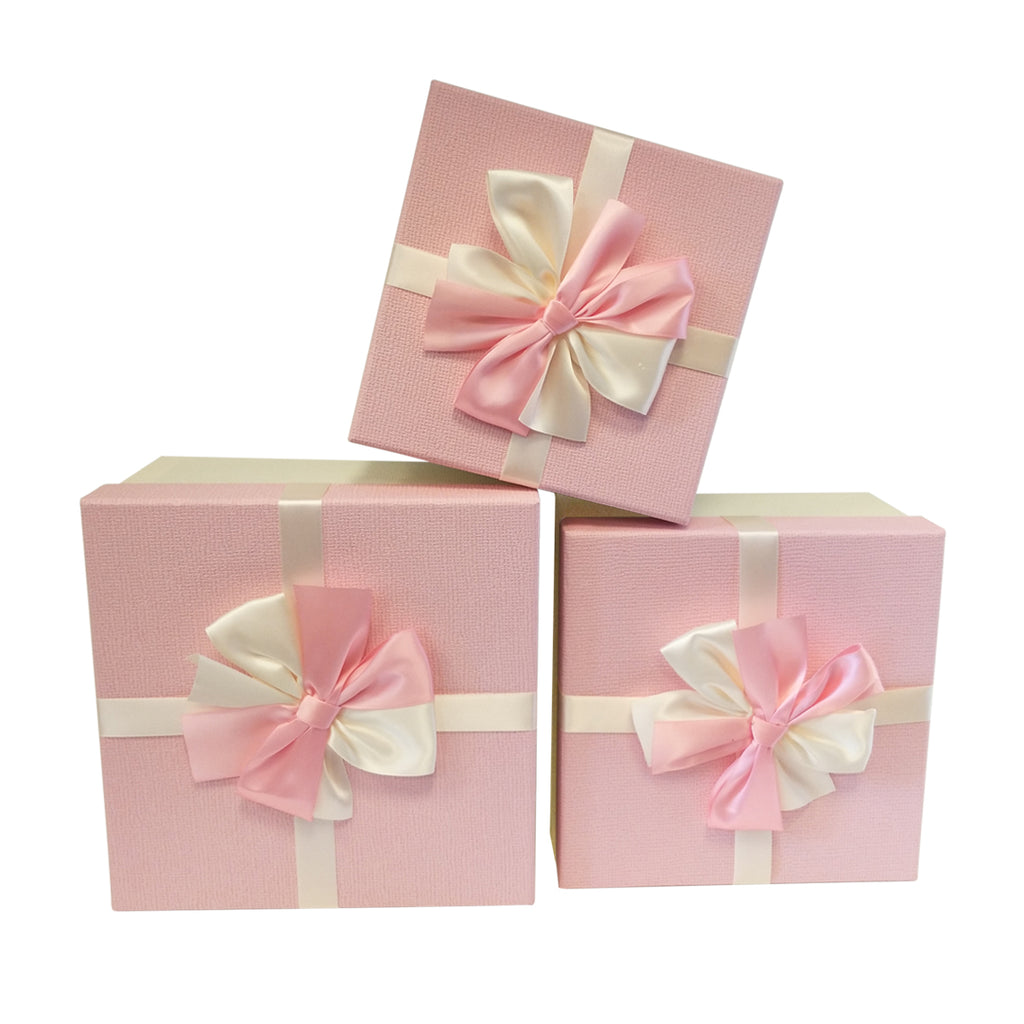 Luxury Rigid Gift Box with Bow - Ld Packagingmall