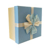 Square Gift Box with Bows -Set of 3