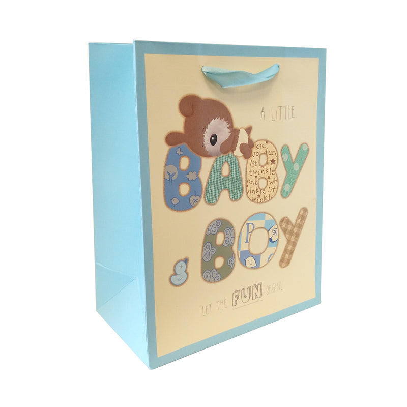 Gift Carrier Bag with Ribbon Handle - Ld Packagingmall