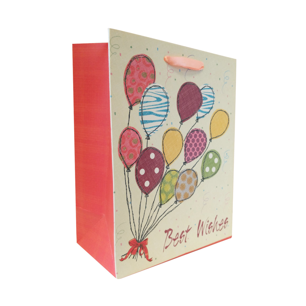 Embossing Gift Carrier Bag with Ribbon Handle - Ld Packagingmall
