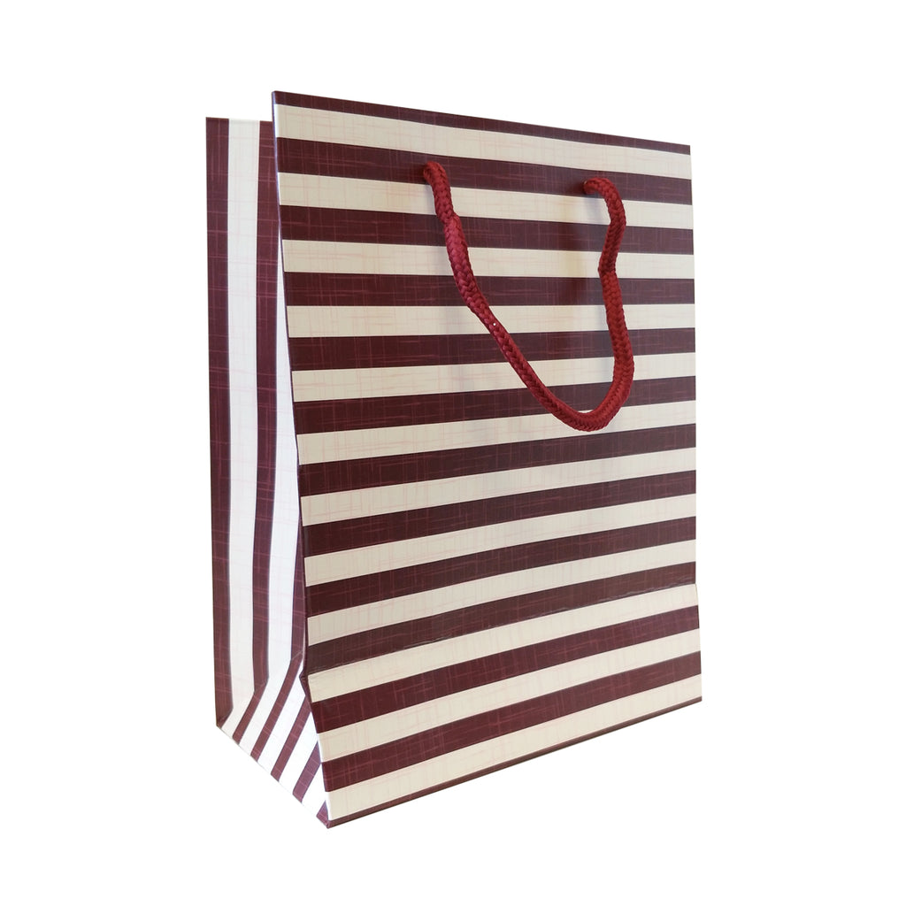 Stripe Print Gift Carrier Bag - Ld Packagingmall