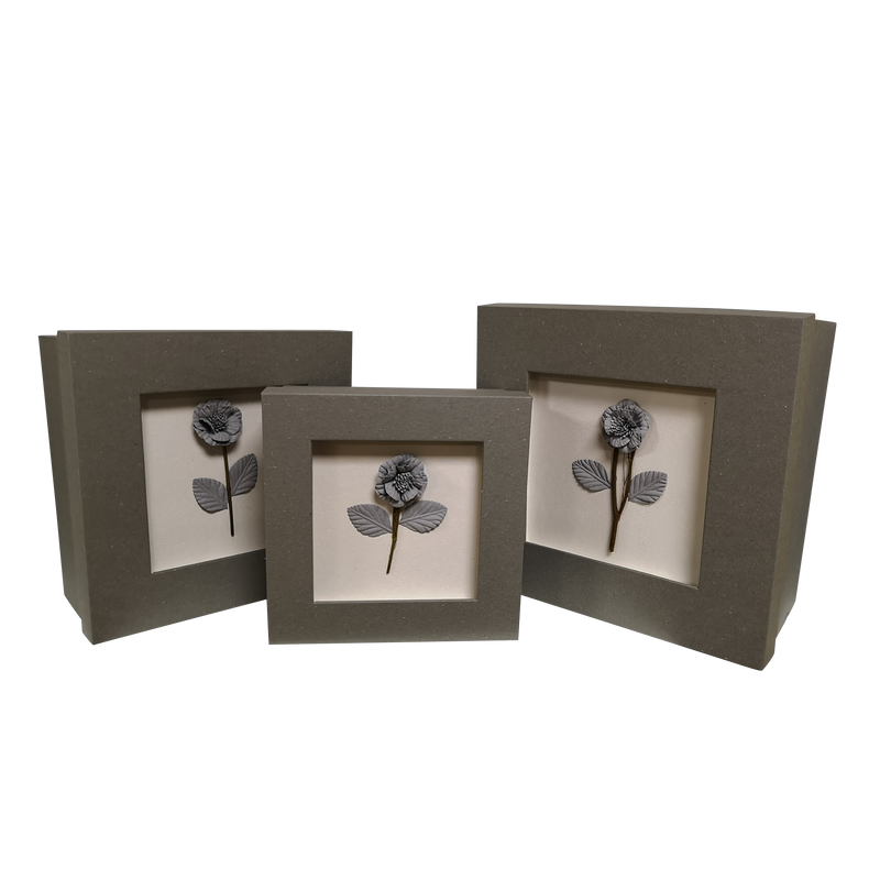 Square Rigid Handmade Flower Gift Box