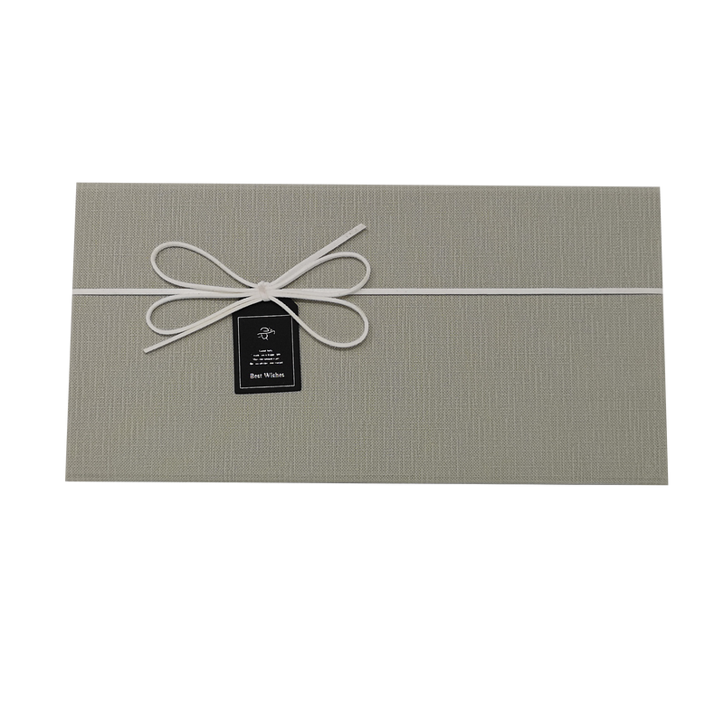 Rectangular Rigid Magnetic Gift Box with Ribbon and Bow