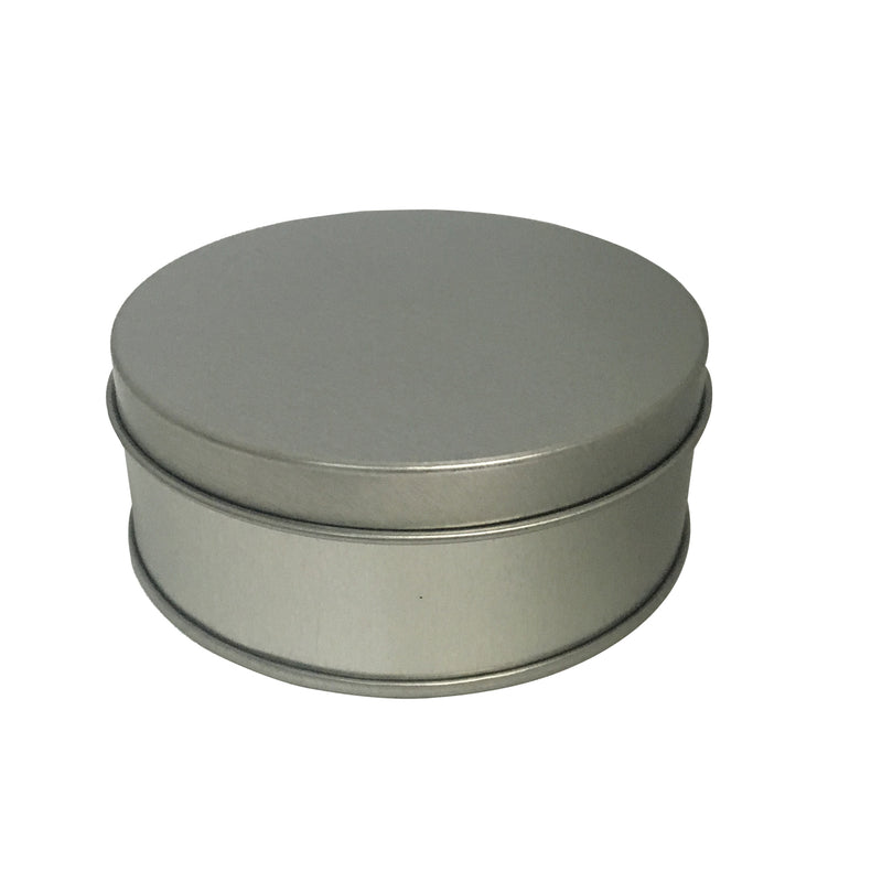 100pcs Medium Round Gift Tin Box With Solid Lid/ Dia90mm x H35/60(mm)