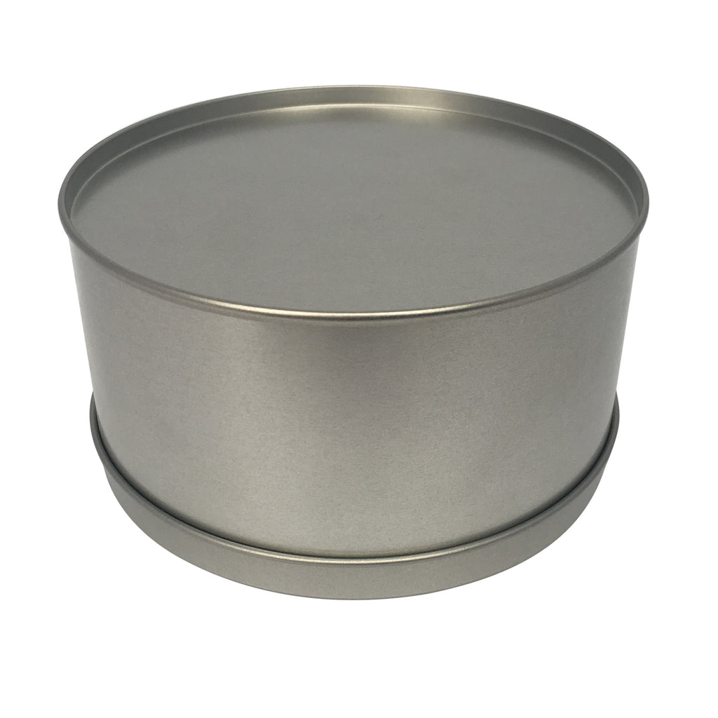 Sample of 64pcs Large Round Gift Tin Box With Solid Lid/ EVA Foam Inserts/ Item Ref: RMTB00012