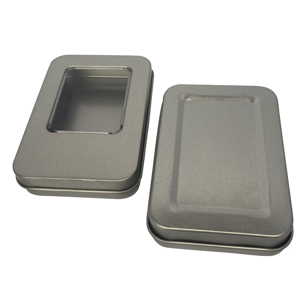 100pcs Rectangular Gift Tin Box / Item Ref: RMTB0001