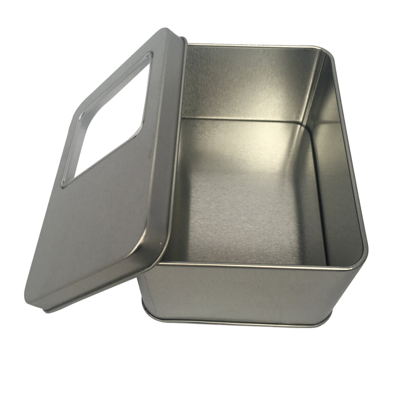 70pcs Rectangular Gift Tin Box With Solid Lid/ L125mm x W90mm x H35/50/60(mm)