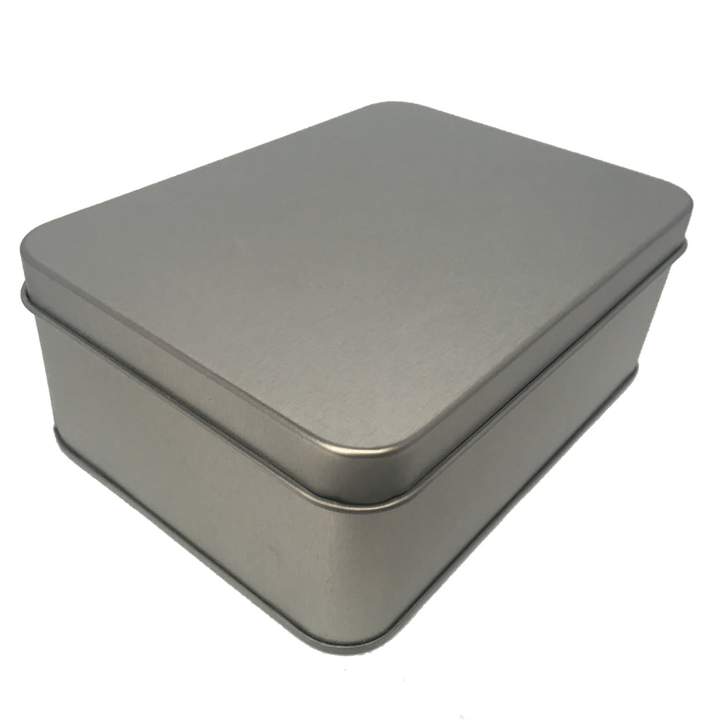 Sample of 70pcs Rectangular Gift Tin Box With Solid Lid/ Window Lid/ Oval Window/ EVA Foam Inserts/ Item Ref: RMTB0009