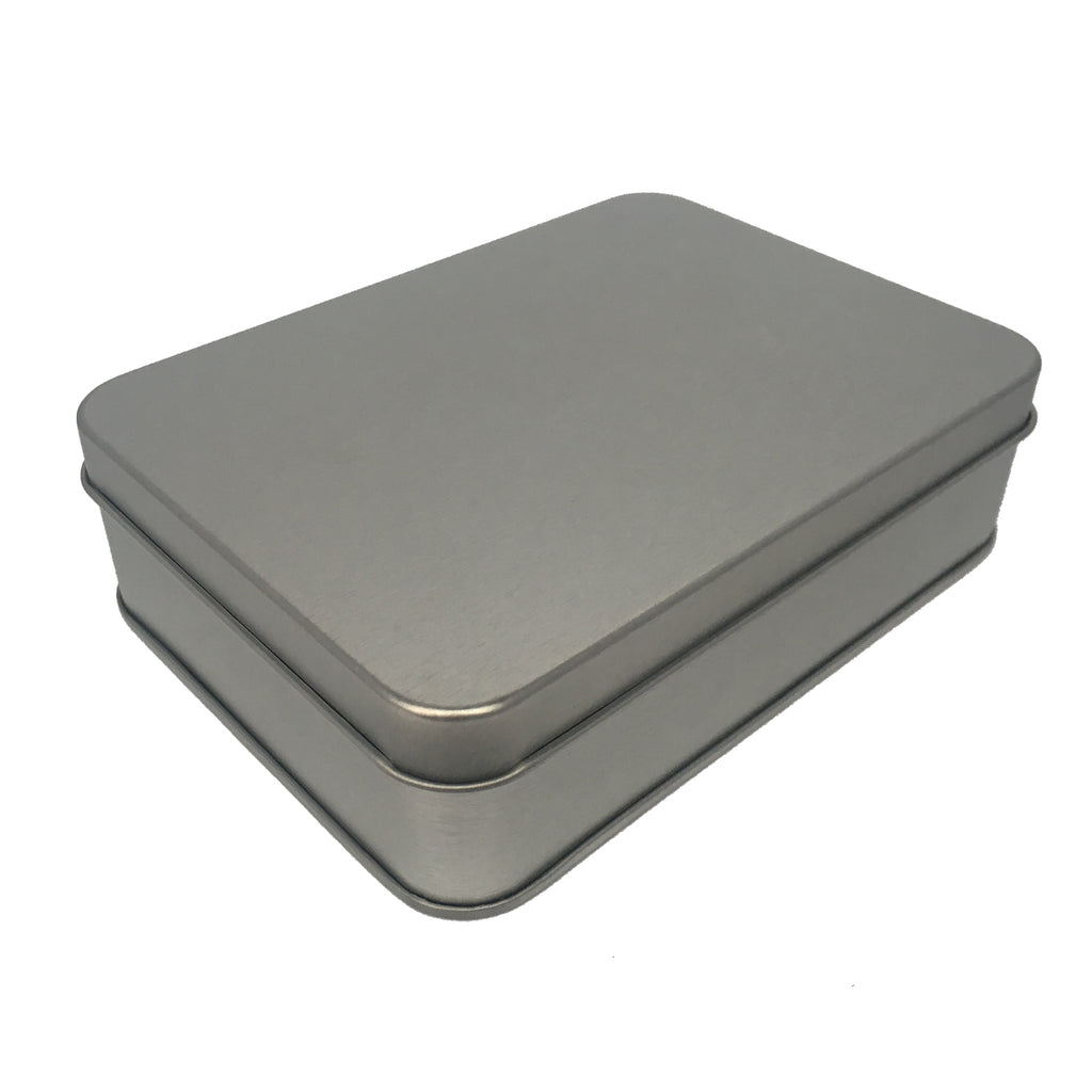 70pcs Rectangular Gift Tin Box With Solid Lid/ Window Lid/ Oval Window/ EVA Foam Inserts/ Item Ref: RMTB0009