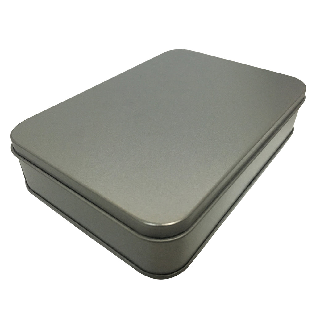 100pcs Rectangular Gift Tin Box With Solid Lid & EVA Foam Inserts/ Item Ref: RMTB0007