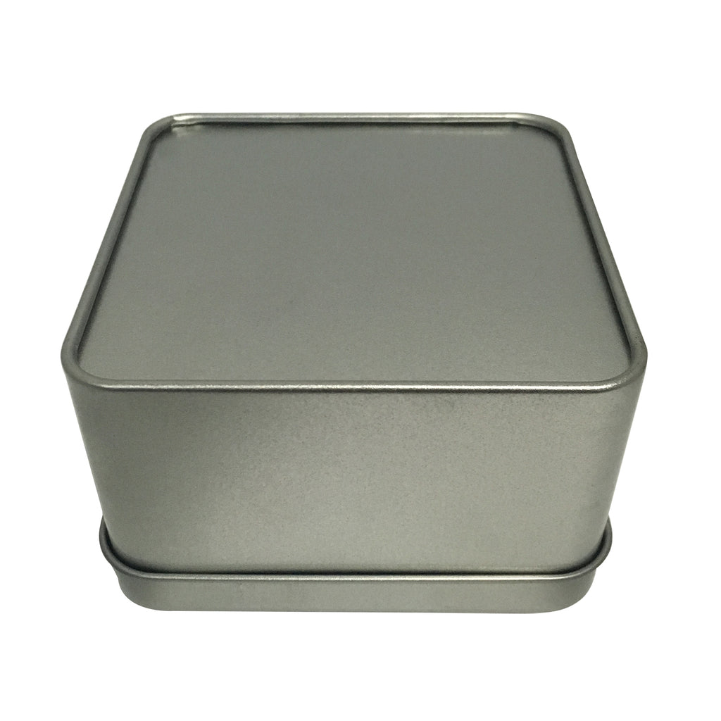100pcs Square Gift Tin Box With Solid Lid & Window lid/ Item Ref: RMTB0003