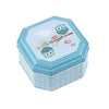 Square Step Lid Storage Tin