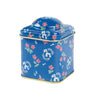 Square Storage Tin with Domed Lid