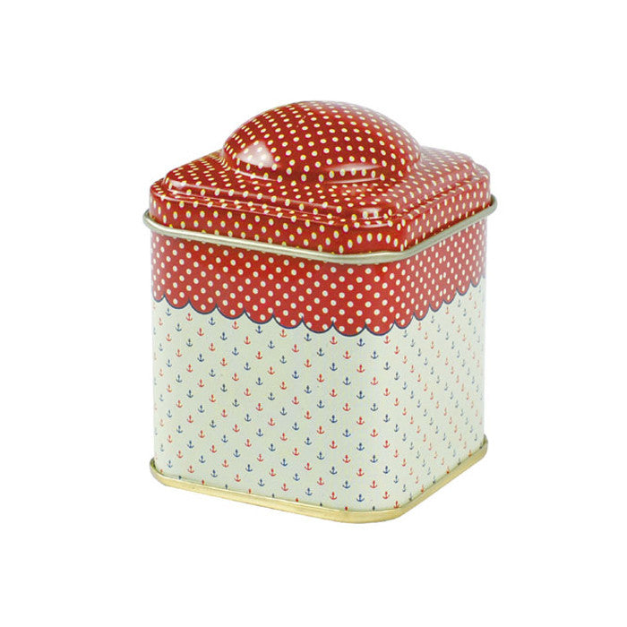 Square Storage Tin with Domed Lid - Ld Packagingmall