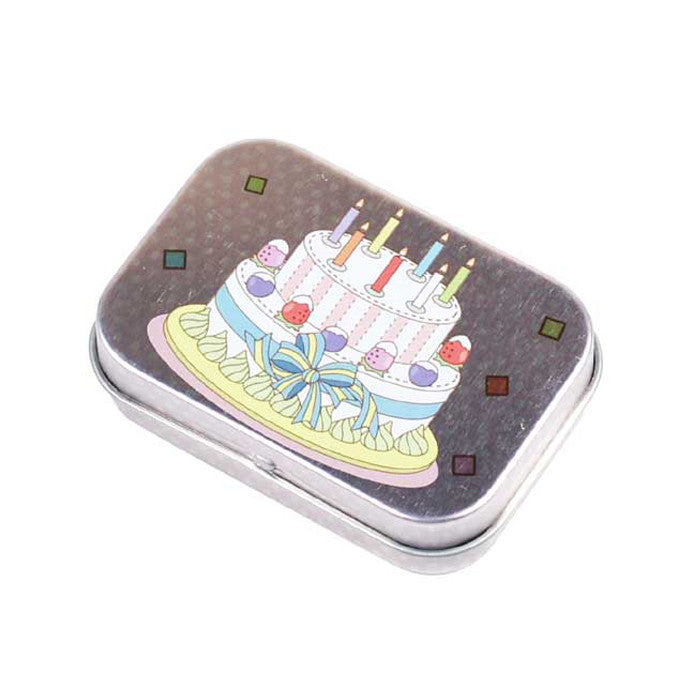 Rectangular Mini Pop Off Lid Tin - Ld Packagingmall