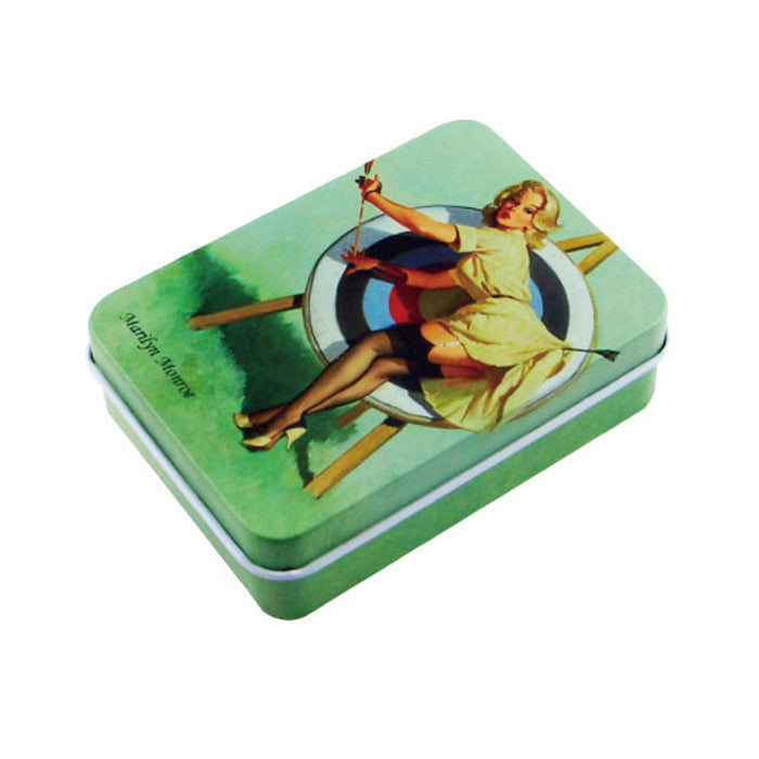 Rectangular Slip Lid Tin
