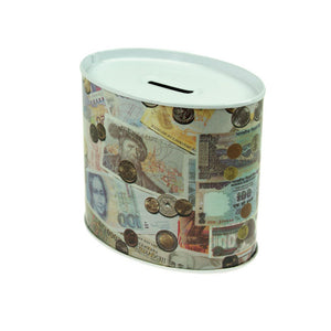 Oval Money Box - Ld Packagingmall