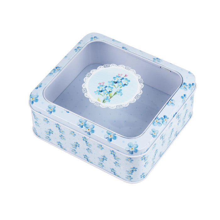 Square Window Lid Storage Tin - Ld Packagingmall