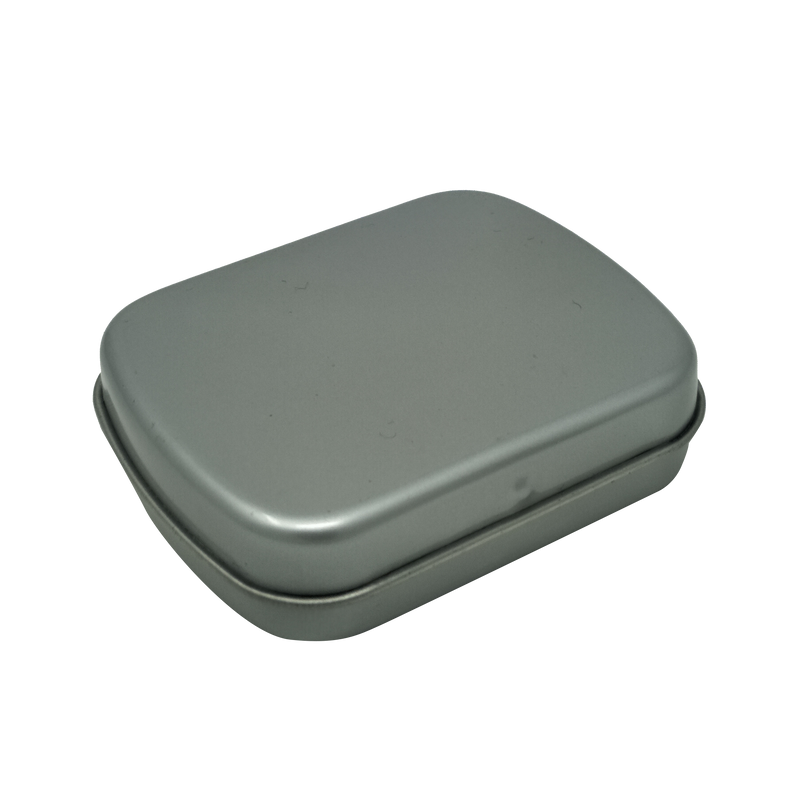 Small Printed Gift Tin Box With Hinged Lid/ L60 x W48 x H15(mm)