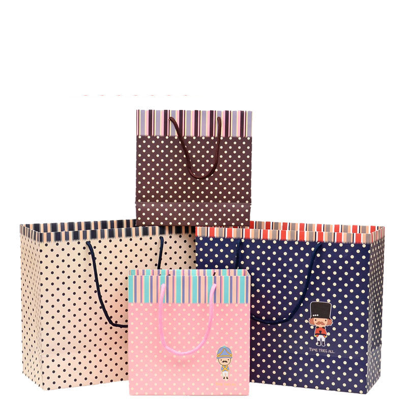 Spots Paper Carrier Bag - Ld Packagingmall