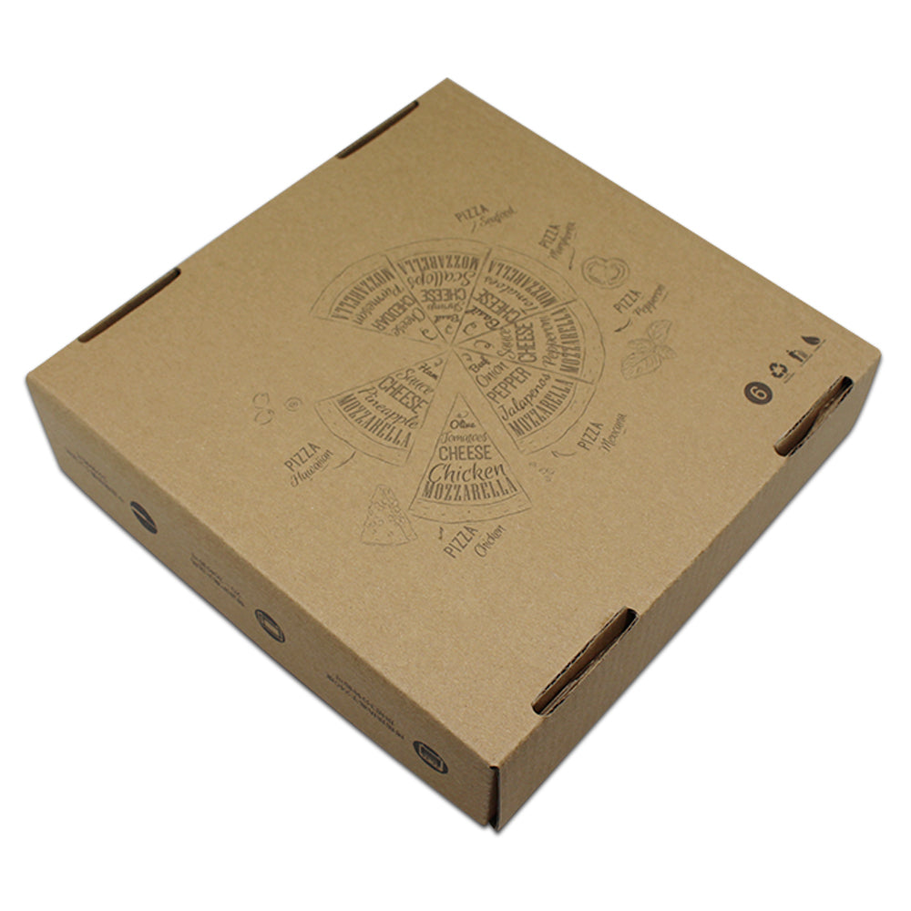 Corrugated Paper Box For Pizza - Ld Packagingmall