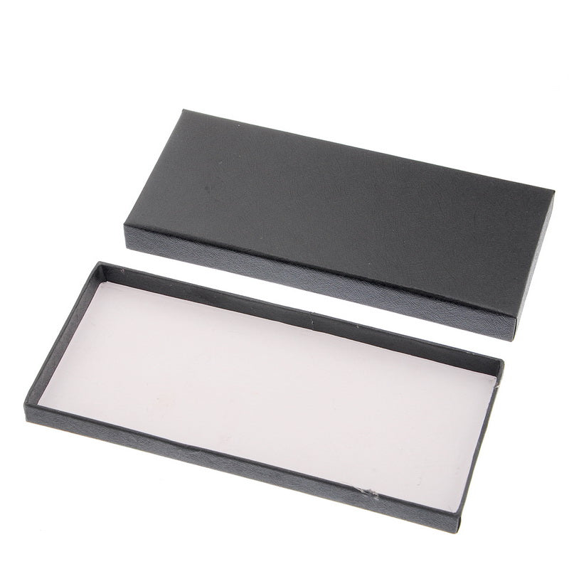 Black Rectangle Collection Art Wine Charms Gift Boxes Jewelry Packaging & Display - Ld Packagingmall