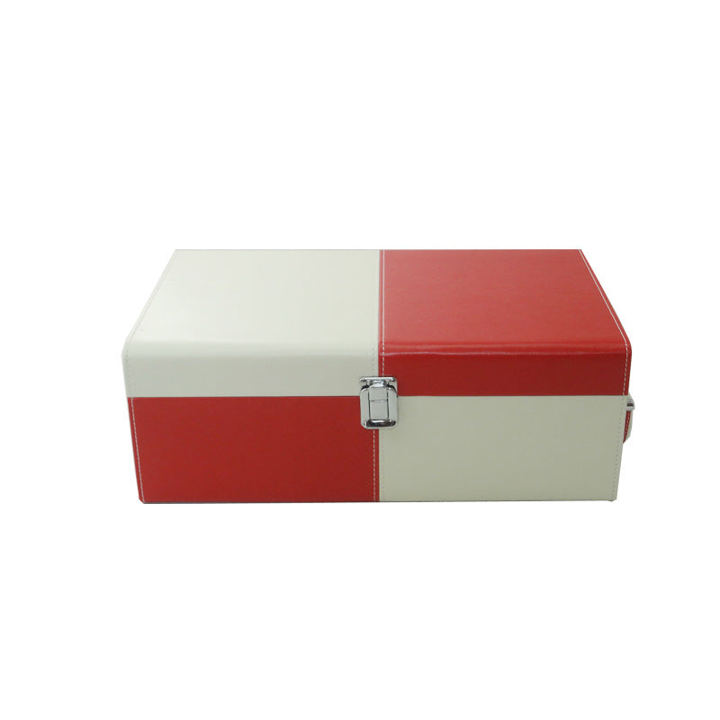 Universal leather wine box - Ld Packagingmall