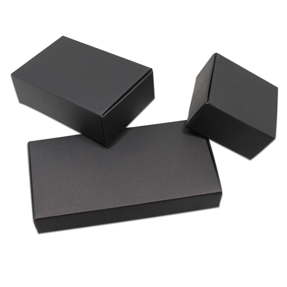 Black Kraft Paper Packaging Box - Ld Packagingmall