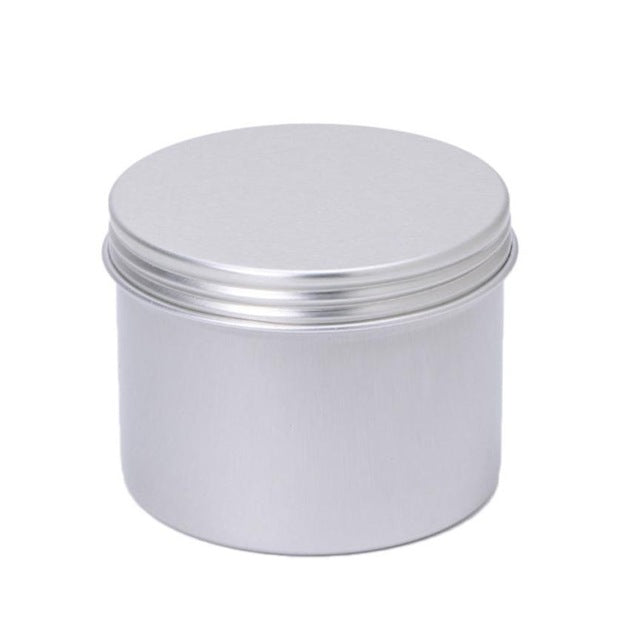 10pcs Round Plain Aluminium Tin Container With Screw Lid - Ld Packagingmall