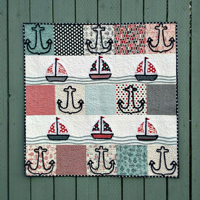 Anchors Away Quilt kit