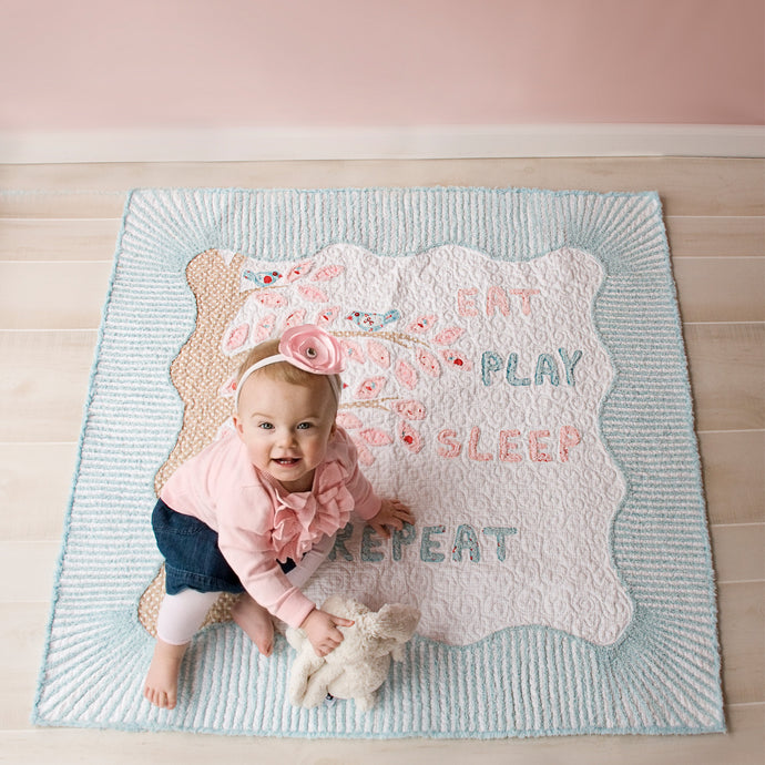 Eat Play Sleep Quilt pattern